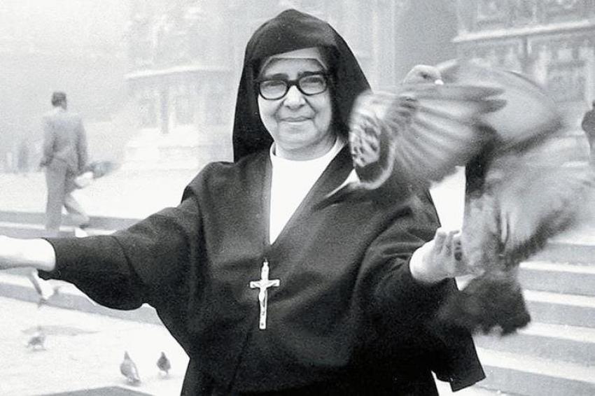 Sor María Romero, enamorada de su Rey