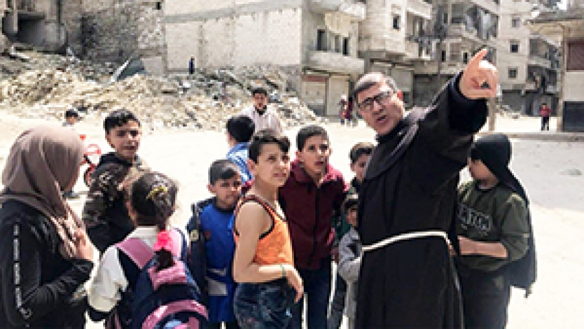 Un franciscano en la guerra