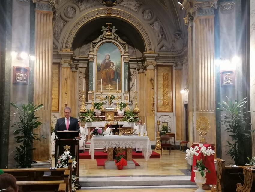 Ticos honraron a La Negrita en el Vaticano