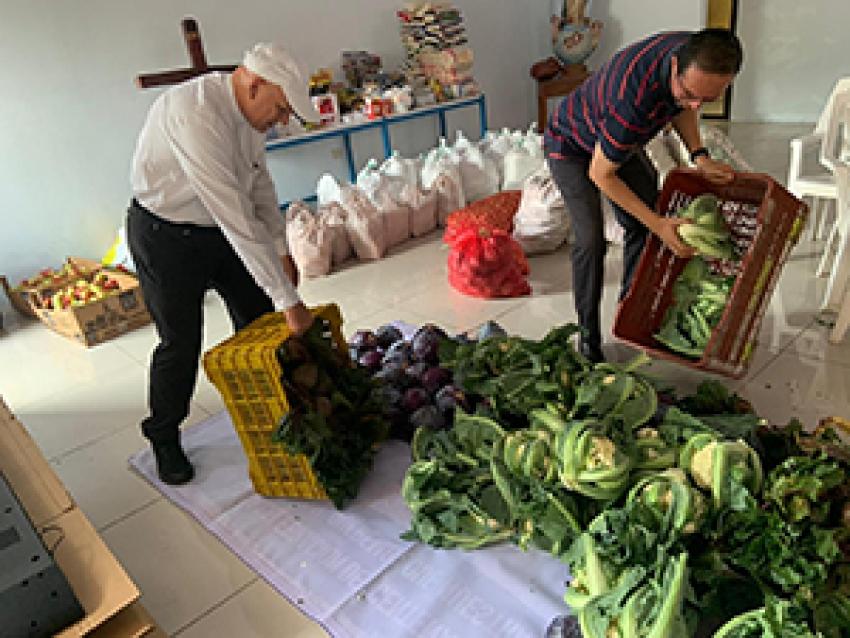 Intercambio solidario de productos agrícolas