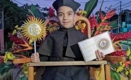 Un pequeño San Ignacio sorprendió al pueblo de Acosta