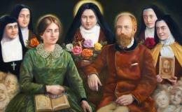 Columna: Santa familia Martin