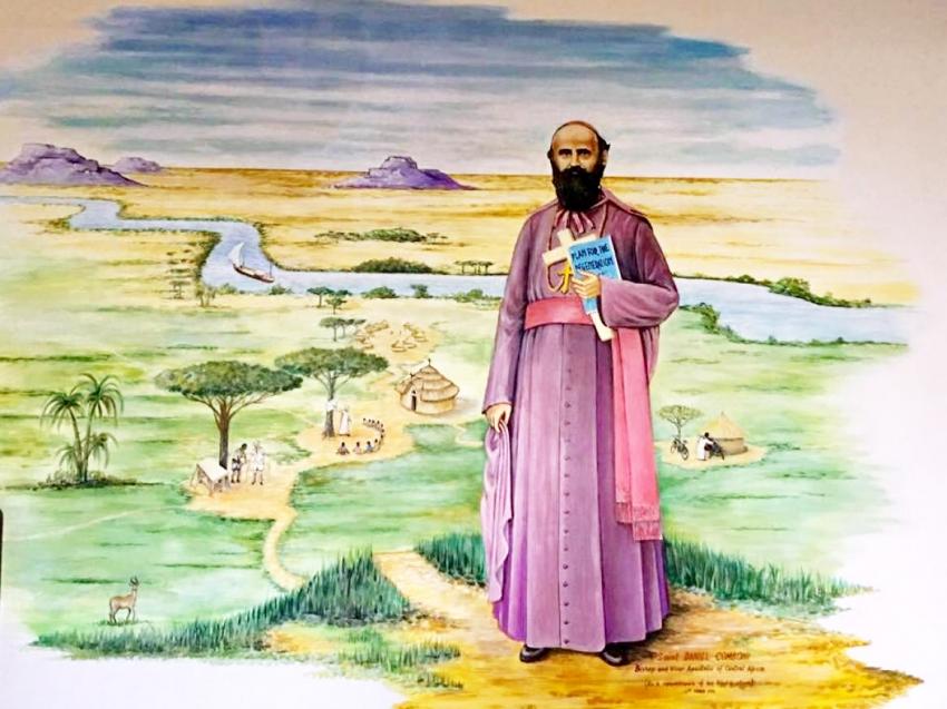 San Daniel Comboni: 190 años de su nacimiento