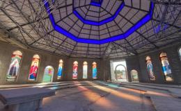 Nuevo templo de La Unión ya luce sus íconos marianos