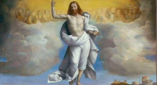 Subió al cielo y está sentado a la derecha de Dios