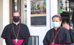 Rinden homenaje en el lugar donde estuvo la primera ermita de San José