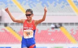 Noelia Vargas se encomienda al Señor antes de partir a Juegos Olímpicos