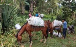 Misionero hizo entrega de donaciones a indígenas de Diócesis de Cartago