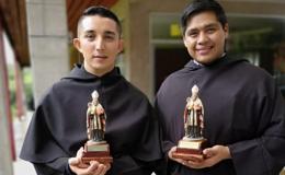 Celebran ordenación diaconal de dos frailes de la Orden de San Agustín