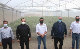 Pastoral Social de Cartago inaugura invernadero para beneficiar a agricultores