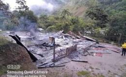 Misionero pide ayuda para reconstruir casa de familia indígena